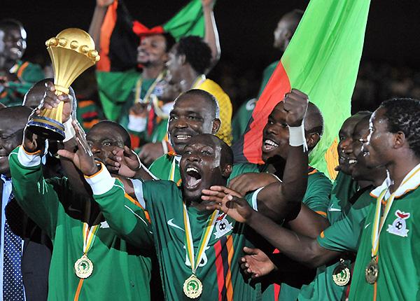 El destino lo quis así: Zambia fue campeón de la Copa Africana de Naciones 2012 (Foto: EFE)
