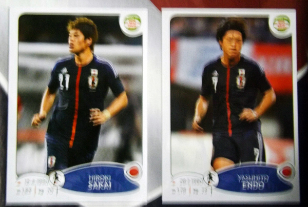 Japón, que estará presente el la próxima Copa América, también forma parte de la colección (Cromo: Editorial Panini)