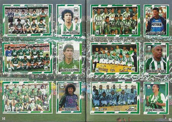 El álbum con los recuerdos de la historia de Atlético Nacional que incluye a César Cueto