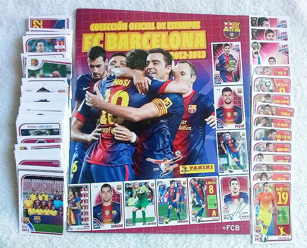 La popularidad del FC Barcelona se hizo sentir hasta en una edición especial para recordar al equipo catalán (Foto: Panini)