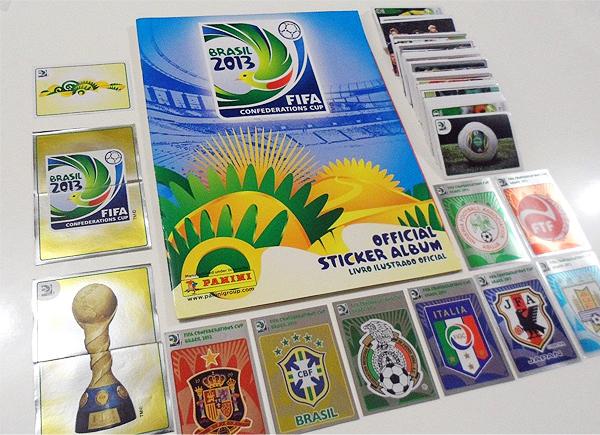 El álbum de la Copa Confederaciones que se desarrolló en Brasil y que además ganó el torneo (Foto: Panini)