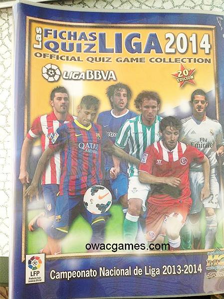 Una de las colecciones más grandes: las Fichas Quiz de la Liga española (Foto: Mundicromo)