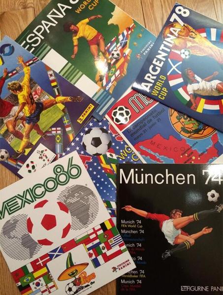 Todos los álbumes de Panini desde México 1970 se podrán coleccionar nuevamente con su reedición (Foto: Facebook)