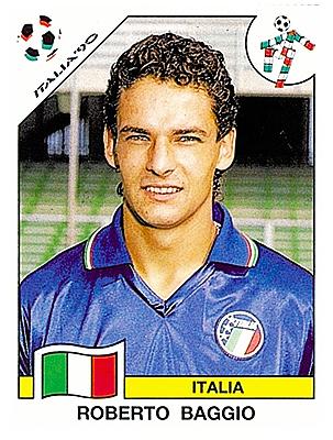 Italia - álbum Panini Mundial 1990