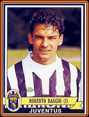 Juventus - álbum Panini Calciatori 1992/93