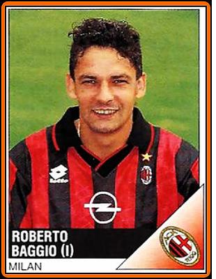Milan - álbum Panini Calciatori 1995/96