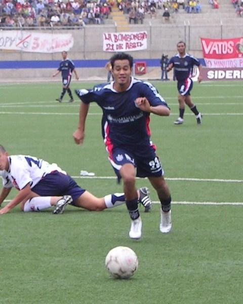 Ronald Quinteros ha hecho una carrera en ascenso que se ha consolidado este 2008 con el bicampeonato logrado con la San Martín y su llamado a la selección nacional (Foto: Diario de Chimbote)