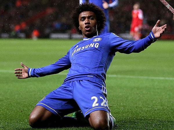 Willian ya tiene marcado cinco goles en la temporada con camiseta del Chelsea (Foto: top2best.com)