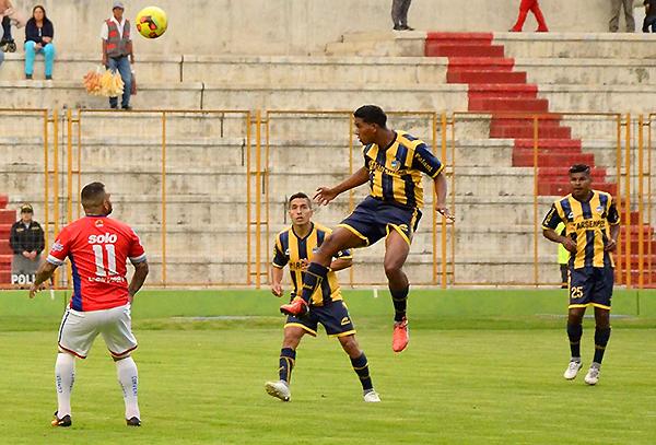 Paulo Goyoneche encontró regularidad en Sport Rosario y espera seguir encaminado su carrera al éxito. (Foto: prensa Sport Rosario)