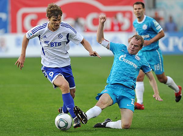 Kokorín comenzó su carrera profesional en el Dínamo Moscú. (Foto: Getty Images Europa)