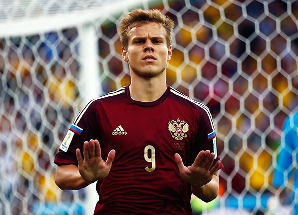 A Kokorín nadie lo discute en la selección de Rusia. ¿Succar podrá ganarse la confianza de Gareca para decir presente en el Mundial? (Foto: Getty Images Europa)