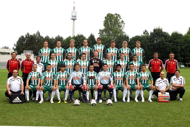 El Rapid de Viena llegó a ser campeón de la Liga Alemana cuando Austria fue anexada al Tercer Reirch (Foto: Wikipedia)