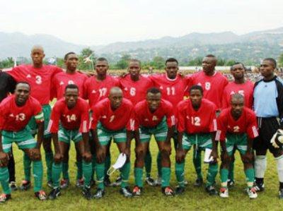 Selección de Burundi, pequeña nación que se instaló en la Confederación Africana de Fútbol en 19772 (Foto: africanfootball.mtnfootball.com)