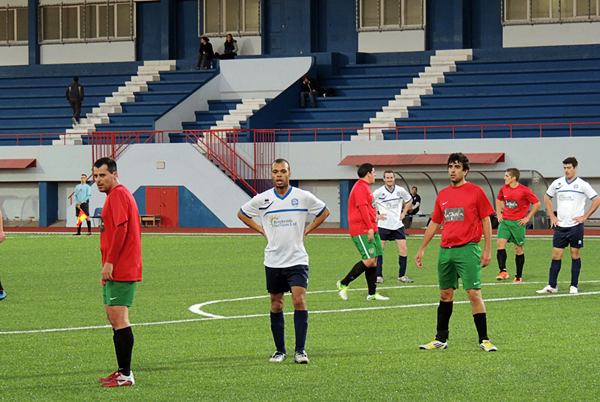 Un encuentro de la segunda categoría entre los equipos de Leo Parilla y Pegasus (Foto: stadiontour.at)