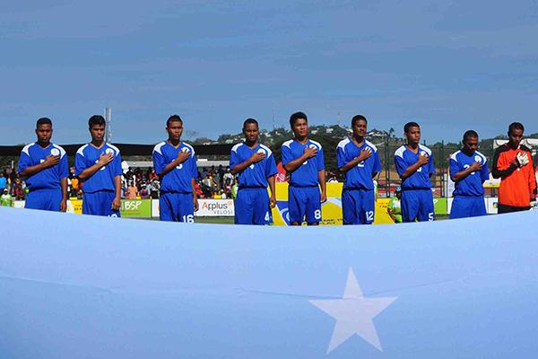 Micronesia, una selección que quedará en la historia (Foto: OFC)