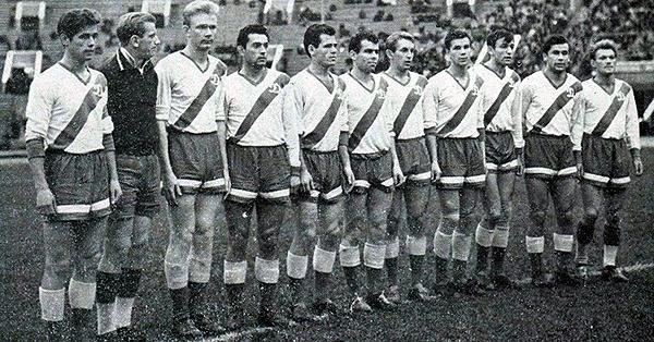 Plante de Dynamo Kiev que logró el título local en 1961. (Fc-dynamo.ru)