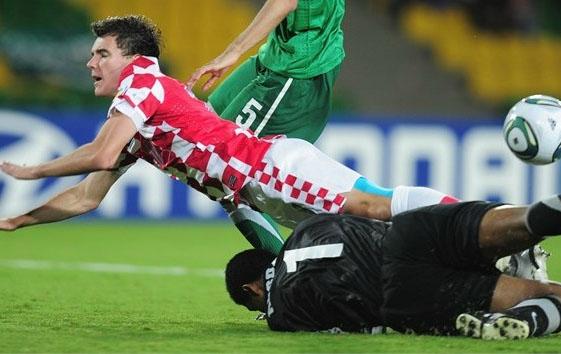 Los croatas cerraron un pésimo mundial con cero puntos cosechados luego de tres encuentros(Foto: AFP)