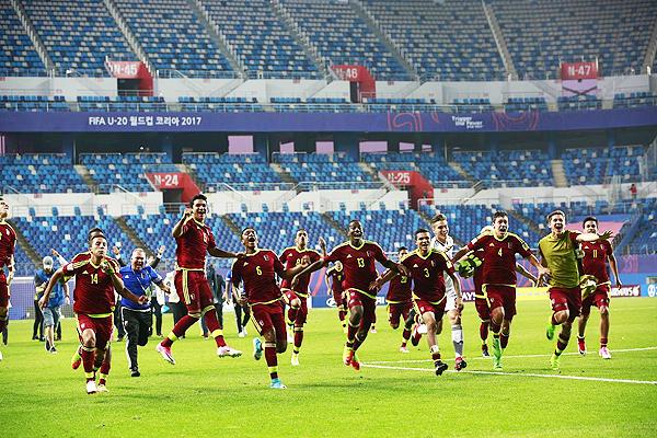 La participación de Venezuela en el Mundial Sub-20 provocó a admiración del mundo entero. (Foto: Getty Images)