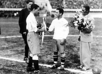 Foto: Enciclopedia Mundial del Fútbol, Editorial Océano
