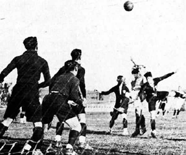 Francia y México rompieron fuegos en el Mundial 1930. (Foto: nacion.com)