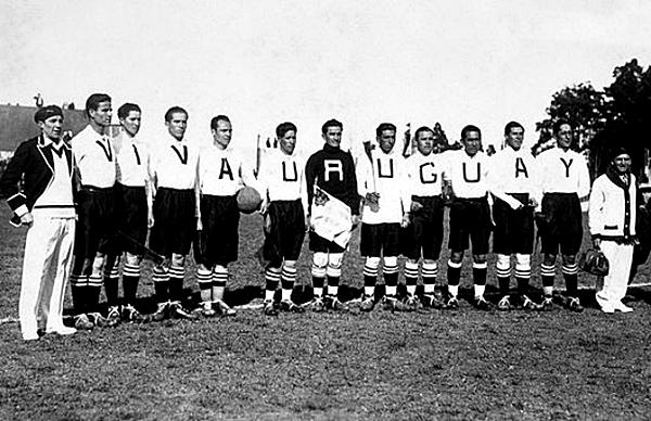 'Viva Uruguay', con esa descripción se presentaron los bolivianos en el Mundial Uruguay 1930 (Foto: Empics)