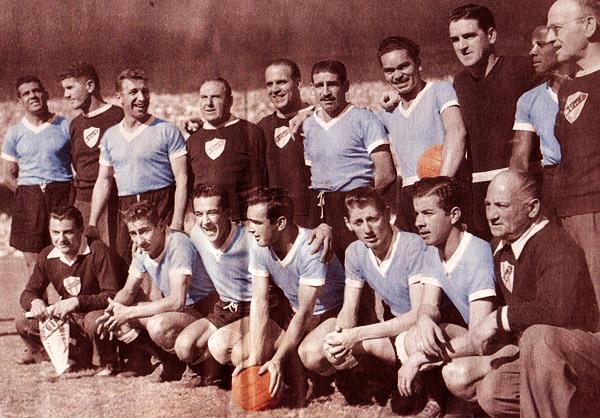 Obdulio Varela fue el gestor de una gran generación uruguaya de los cincuenta que logró el Maracanazo. (Foto: Anotando Fútbol)