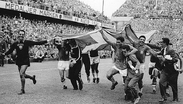 Tras su primer triunfo de Copa América en 1916, Brasil se erigió rápidamente como el amo del fútbol con dos Copas del Mundo ganadas, la primera en Suecia 1958. (Foto: AFP)