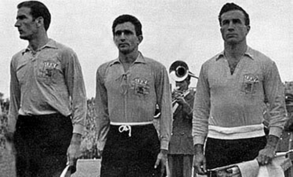 Argentina debutó en Suecia 1958 con uniforme prestado: el de IFK Malmö (Foto: infobae.com)