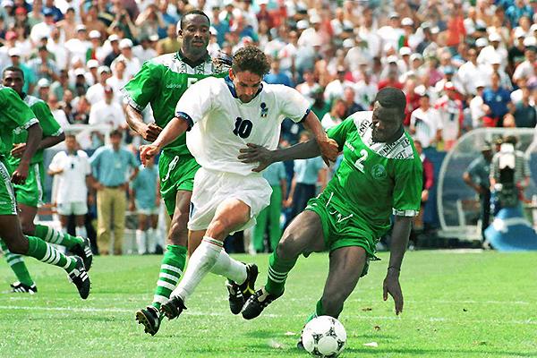 Nigeria fue la gran sorpresa en Estados Unidos 1994 habiendo clasificado a los octavos de final (Foto: George Herringshaw)