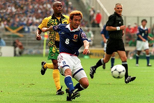 Tras la agonía de Doha, Japón accedió a un Mundial en 1998 y lo hizo con fuego en las mangas (Foto: Corbis Images)