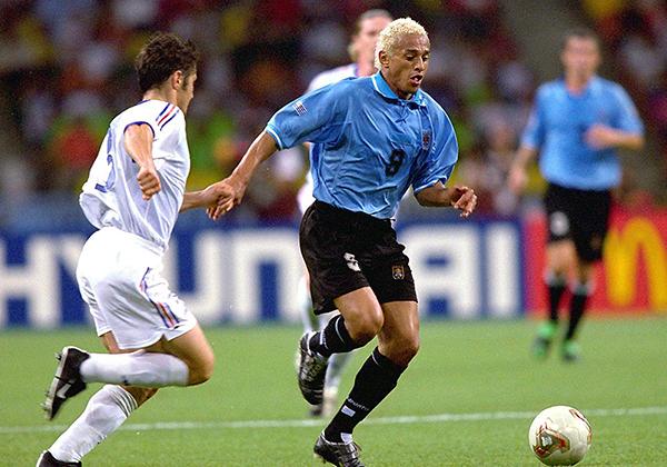 Dario Silva, pese a ser seleccionado uruguayo y haber logrado relativo éxito, nunca llegó a despegar (Foto: AFP)