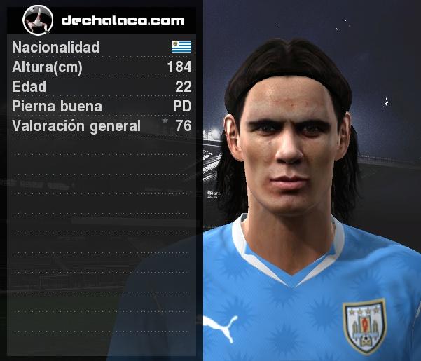 Con dos goles tempraneros, Edinson Cavani le otorgó la clasificación a Cuartos a su selección y se erigió como el mejor jugador en la simulación (Imagen: PES Edit / Edición: Peru Evolution Soccer)