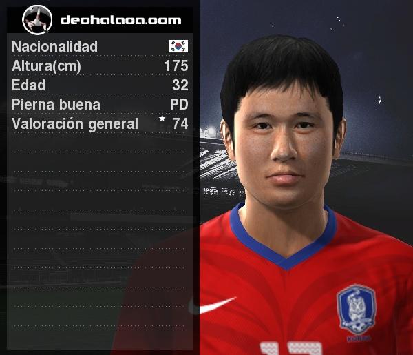Lee Young Pyo no solo marcó, sino que también jugó para ser la figura (Imagen: PES Edit / Edición: Peru Evolution Soccer)