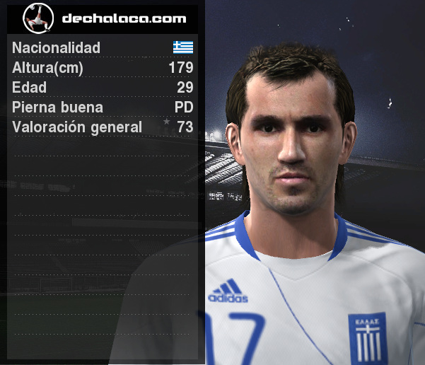 Gekas, al final de cada tiempo, fue el hombre clave para el empate y la clasificación de su equipo (Imagen: PES Edit / Edición: Peru Evolution Soccer)
