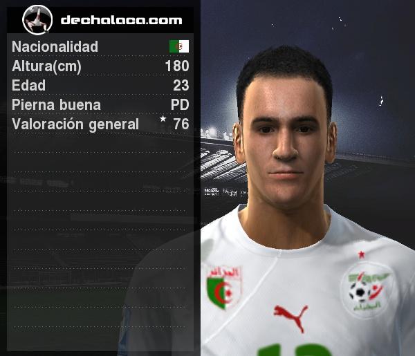 Karim Matmour fue el hombre clave en el partido: convirtió dos goles y permitió el acceso de su selección a Octavos (Imagen: PES Edit / Edición: Peru Evolution Soccer)