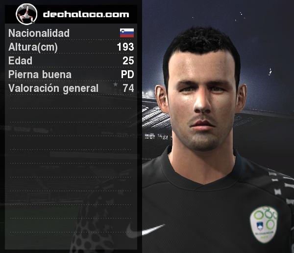 El '1' esloveno fue clave para aguantar el 1-1 y catapultar la clasificación de su selección a Octavos (Imagen: PES Edit / Edición: Peru Evolution Soccer)