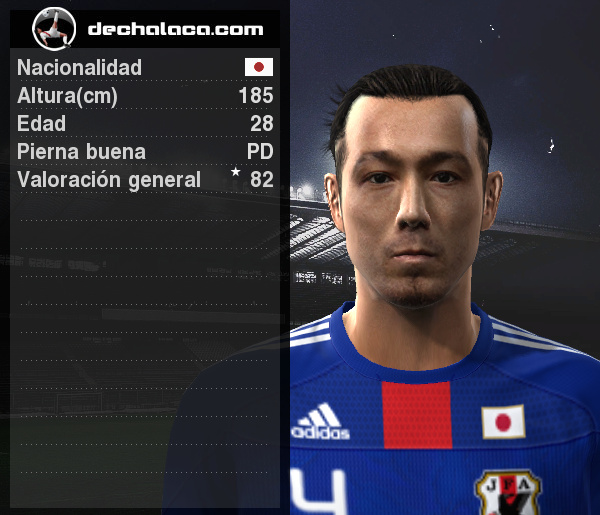 Marcus Tulio Tanaka fue importante en el bloque posterior japonés y convirtió el único tanto del partido, consagrándose como el mejor de la cancha (Imagen: PES Edit / Edición: Peru Evolution Soccer)