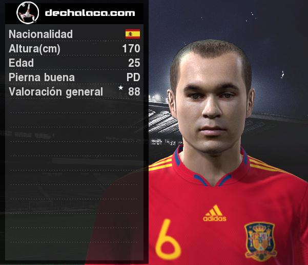 Lo de Iniesta fue determinante en la simulación: su cambio de ritmo fue decisivo, además de convertir el gol triunfal en tiempo suplementario (Imagen: PES Edit / Edición: Peru Evolution Soccer)