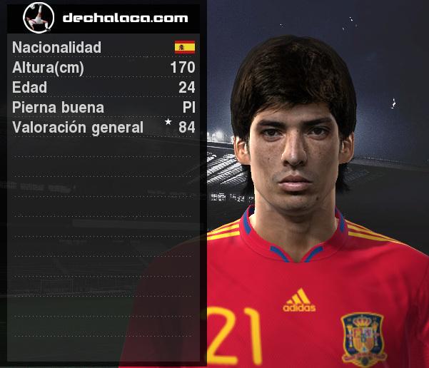 David Silva tuvo una actuación deslumbrante en la simulación y, por grandes cuerpos, fue el mejor del partido (Imagen: PES Edit / Edición: Peru Evolution Soccer)