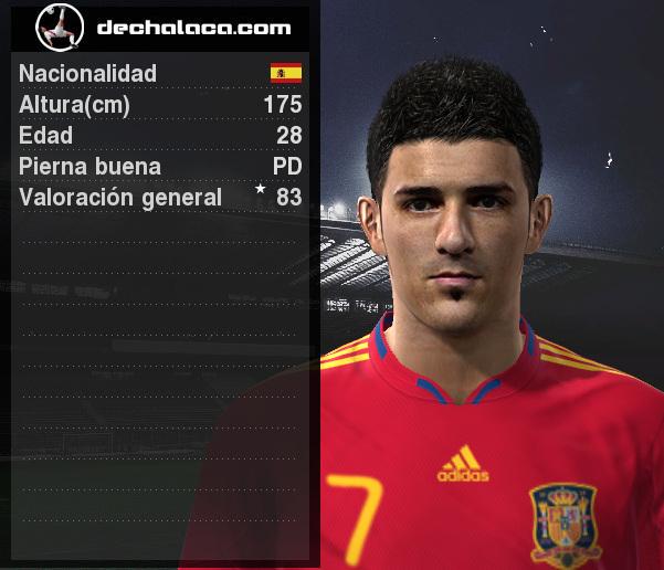El 'Guaje' Villa destacó con creces en la oncena titular y convirtió dos de los tres tantos de la 'Furia Roja' en la simulación (Imagen: PES Edit / Edición: Peru Evolution Soccer)