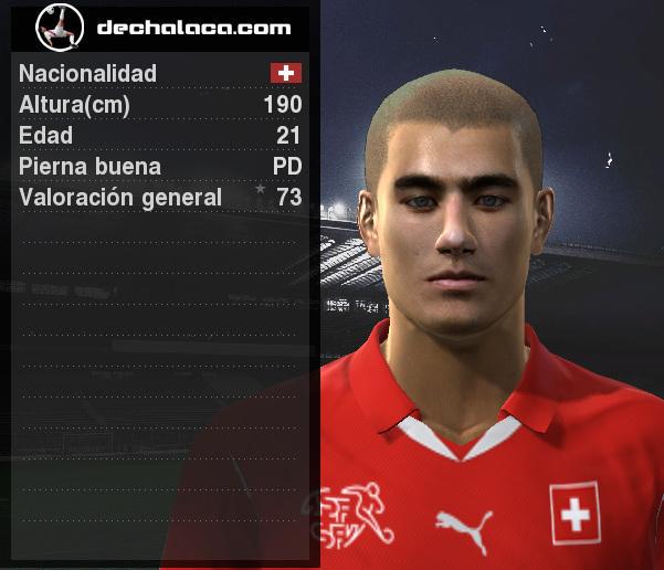 El delantero del Bayer Leverkusen, Eren Derdiyok, tuvo una actuación para los 10 puntos en la simulación (Imagen: PES Edit / Edición: Peru Evolution Soccer)