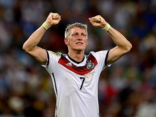Bastian Schweinsteiger ratificó ser pieza fundamental en Alemania (Foto: AFP)