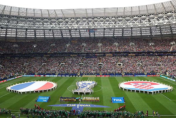 Moscú fue sede de una fiesta. La definición de la máxima fiesta futbolística. (Foto: FIFA)