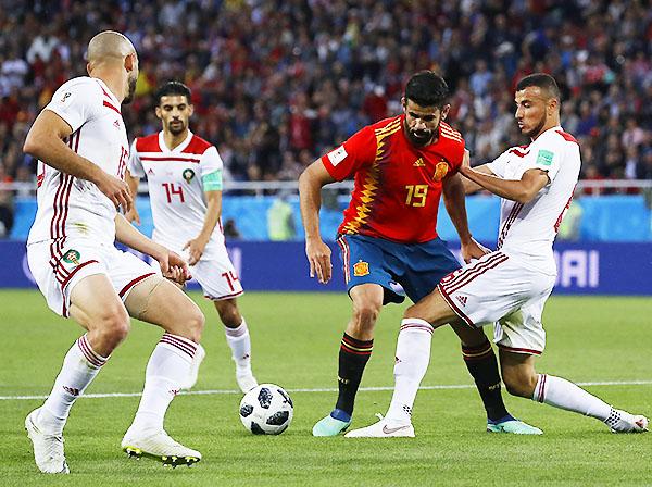 Marruecos tuvo un grupo muy complicado, pero perder con Irán fue catastrófico. (Foto: AFP)