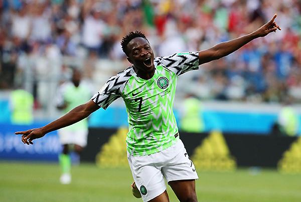 Ahmed Musa es la figura de Nigeria, pero su presencia no pudo cambiar el destino de la selección. (Foto: FIFA)