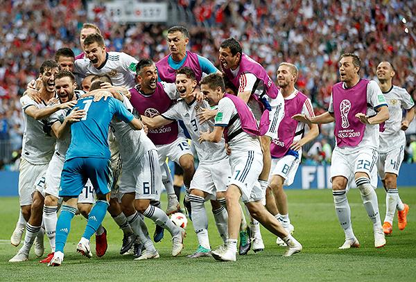 Rusia escaló 21 posiciones en el Ranking FIFA: llegar a cuartos de final le permitió eso. (Foto: FIFA)