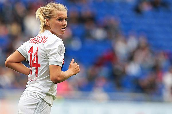Hegerberg es la jugadora más valiosa de Noruega. (Foto: AFP)