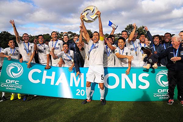 Auckland City fue el más ganador de la Champions de la OFC. (Foto: OFC)