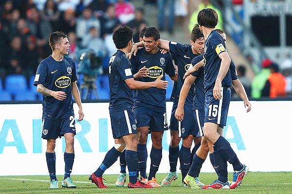 El recuerdo de Cruz Azul eliminado en el Mundial de Clubes a manos del Auckland City. (Foto: AFP)
