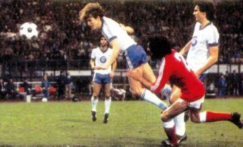 Benfica tuvo dos partidos para superar al Anderlecht en 1983 pero no pasó más allá de un empate 1-1 en el partido de vuelta (Foto: twb22.blogspot.com)